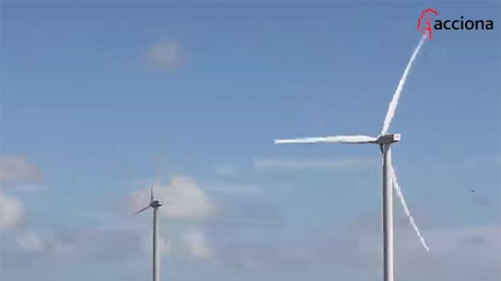 El parque eólico de San Román (Texas), ya operativo