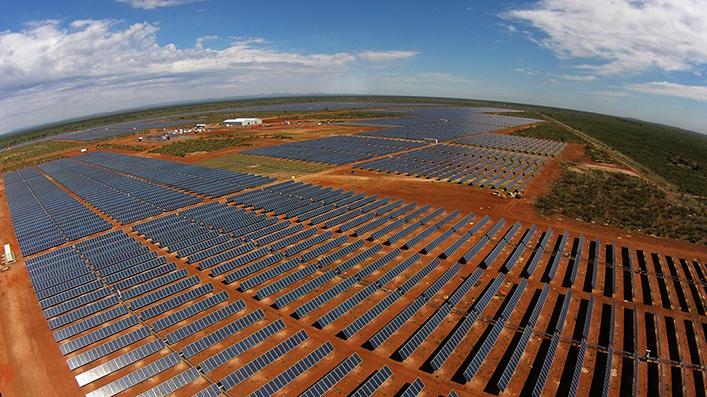 Planta fotovoltaica de Sishen (Sudáfrica)